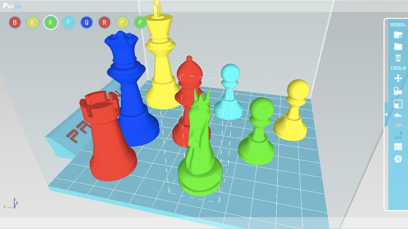 3Dデータ作成ソフトのイメージ。(出典:DISCOVER)