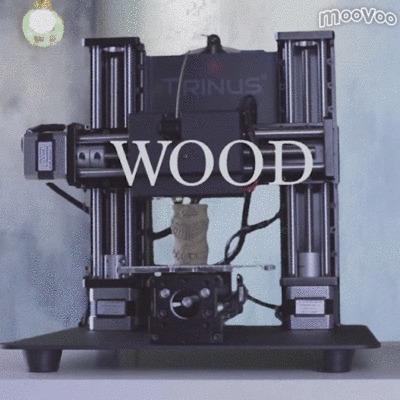 サンフランシスコ発・様々な材料で使える家庭用3Dプリンター「TRINUS」