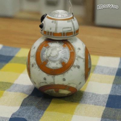 スター・ウォーズの「BB-8」を再現! スマホで動かすドロイド