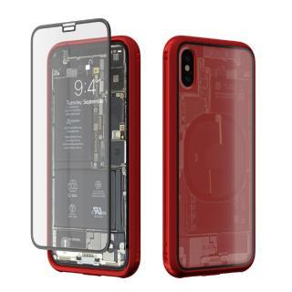 Monolith Transparent X レッド iPhone X【5月下旬】 両面強化ガラスでiPhoneを360度全面保護するモノリス トランスパレントX。背面は時計のトランスパレントバック(裏スケルトン)をイメージして内部構造を模した保護フィルムを追加しました。 ¥6,912 (税込) Apple > iPhone X アクセサリー&グッズ > iPhone X ケース・カバー