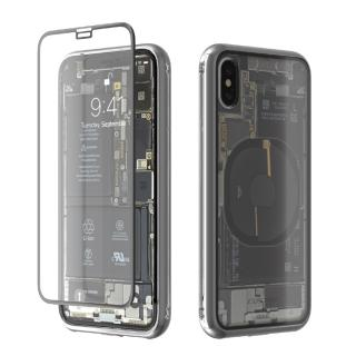 Monolith Transparent X ブラック iPhone X【5月下旬】 両面強化ガラスでiPhoneを360度全面保護するモノリス トランスパレントX。背面は時計のトランスパレントバック(裏スケルトン)をイメージして内部構造を模した保護フィルムを追加しました。 ¥6,912 (税込) Apple > iPhone X アクセサリー&グッズ > iPhone X ケース・カバー