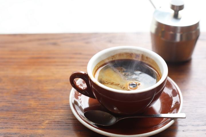 美味しくいれられたコーヒー