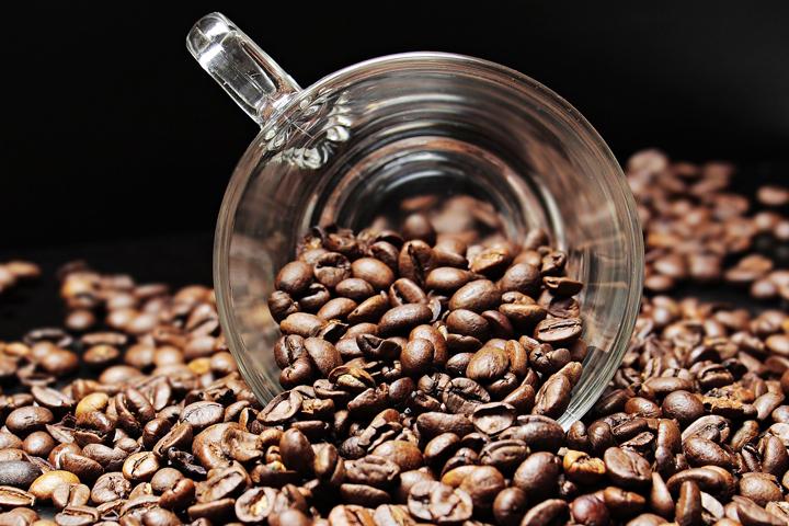 香り高そうなコーヒー豆