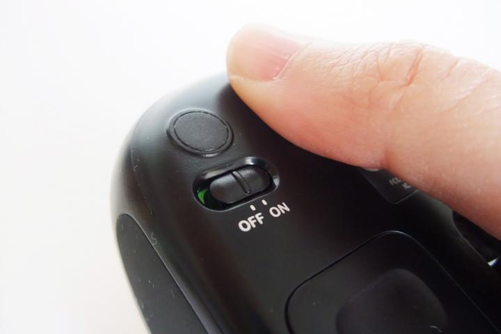 ワイヤレスマウスが動かない原因は電源オフ