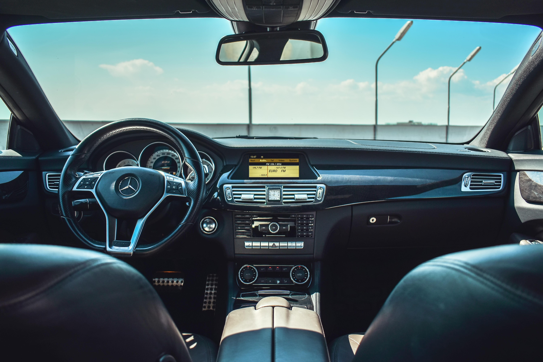 FMを流しながらドライブの写真