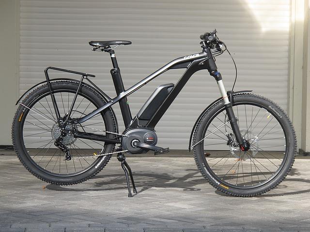 進化した電動アシスト自転車の写真
