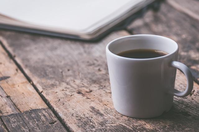 シンプルなコーヒーの写真