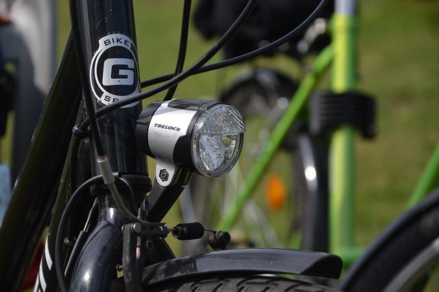 自転車ライト の画像