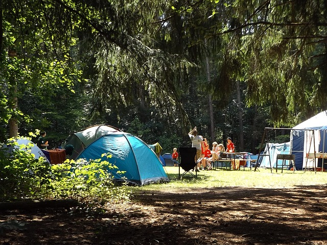 キャンプを楽しむ