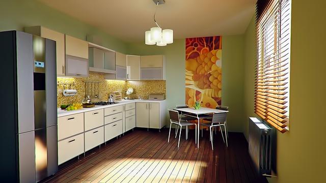 キッチン全体の写真
