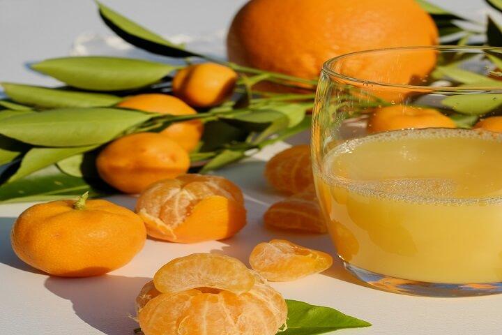 ビターオレンジ(オレンジジュース+ビール)