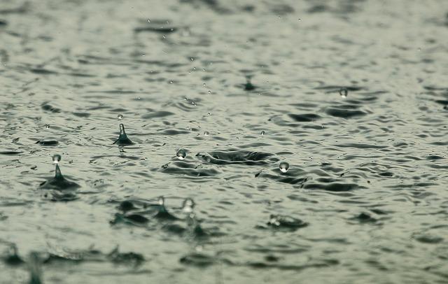 雨が降っている時のイメージ
