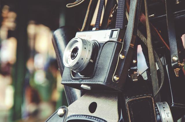 ヴィンテージカメラの写真