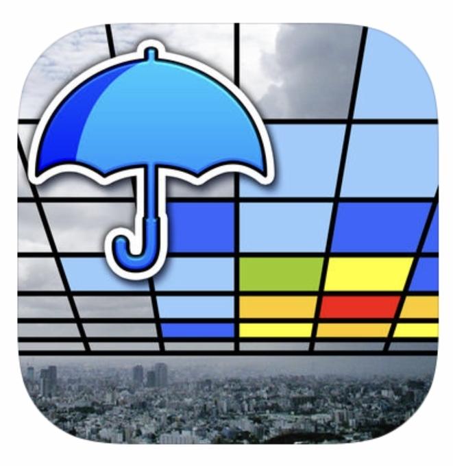 Go雨!探知機 -XバンドMPレーダ-ARアプリ