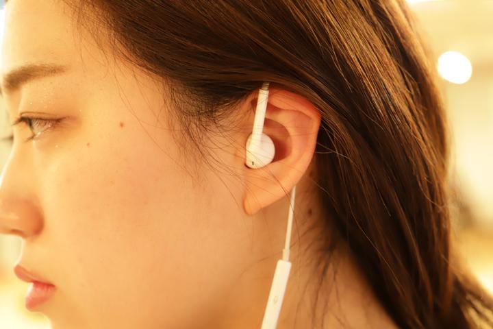 EarPodsのSHURE掛け