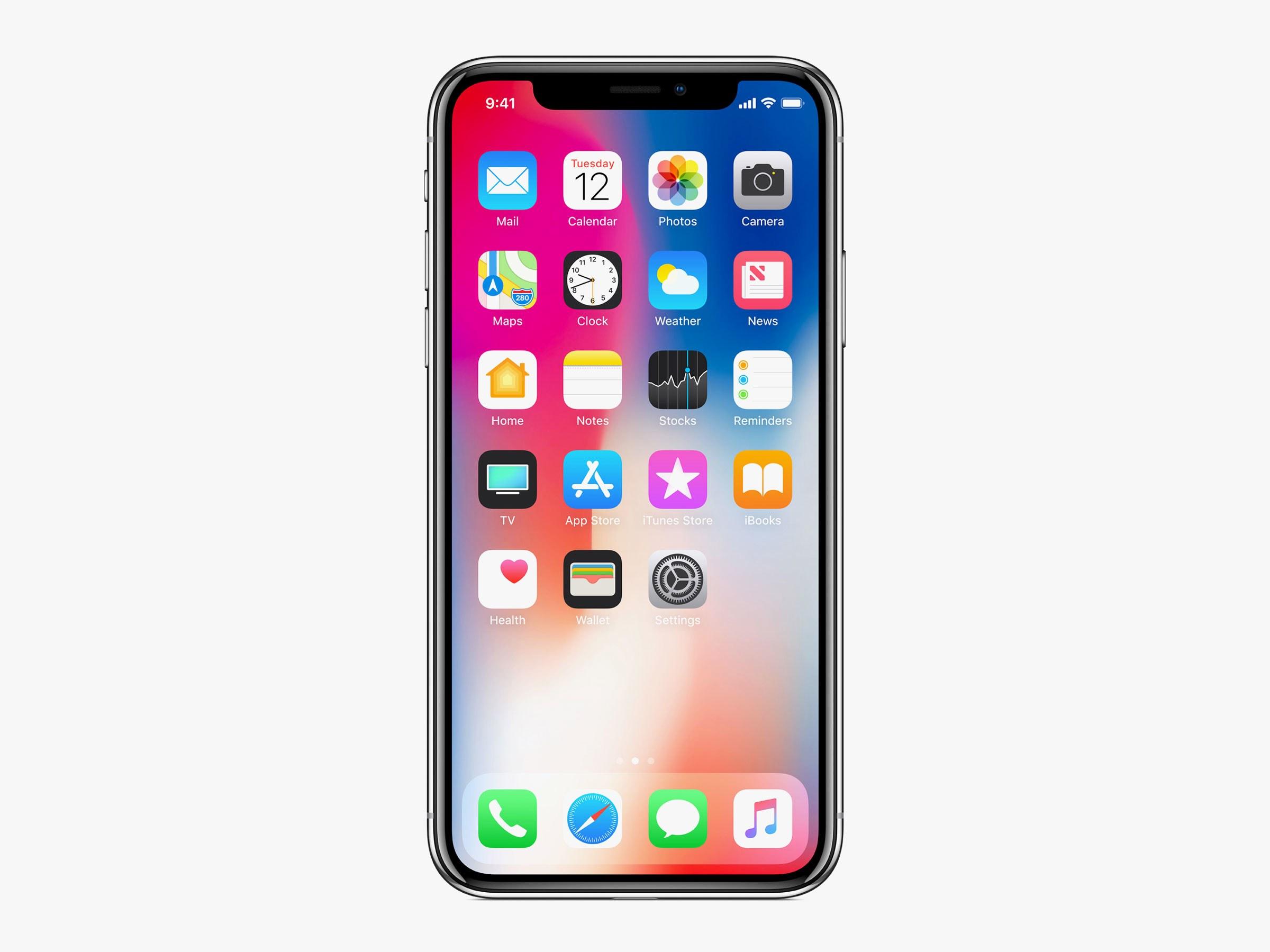 iPhoneの標準アプリ