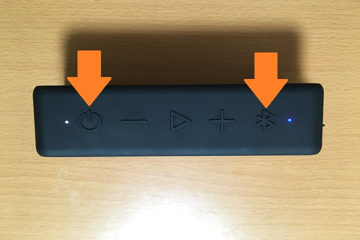 anker soundcore2のBluetooth接続方法の画像