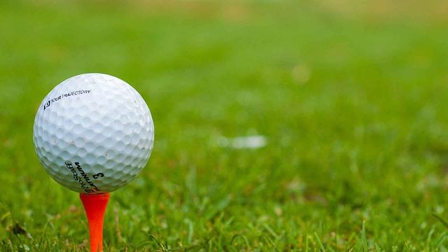 ゴルフボールの写真