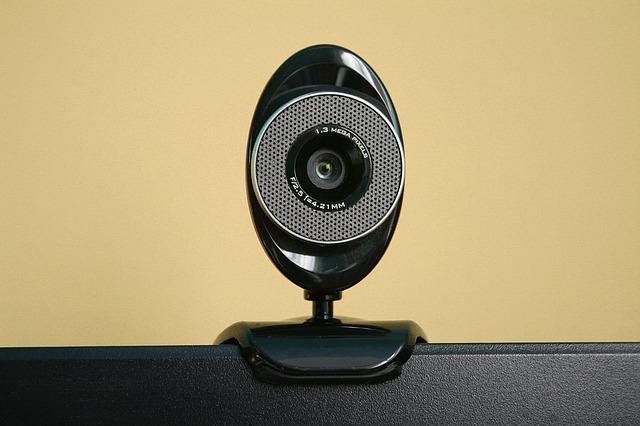黒いPC用カメラ