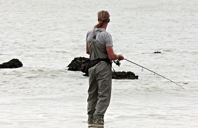 釣りをしているイメージ