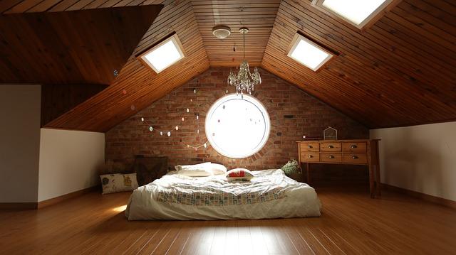 寝室全体のイメージ