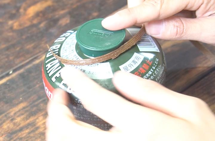 OD缶 カバー作っている最中の画像