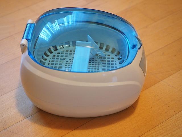 超音波洗浄機の写真