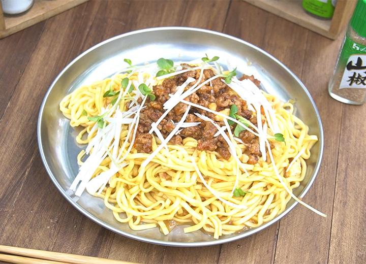 蒙古タンメン中本で作る汁なし担々麺