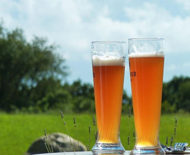 ビールピルスナーグラス