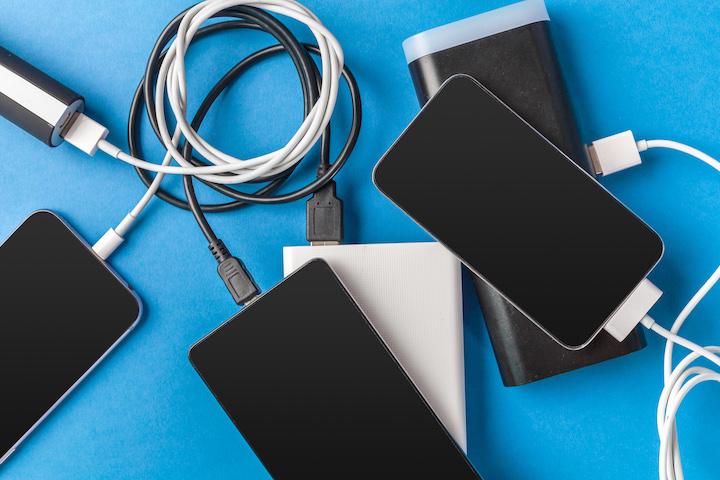 モバイルバッテリー複数