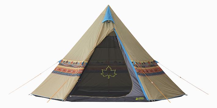 ロゴスのテントの画像