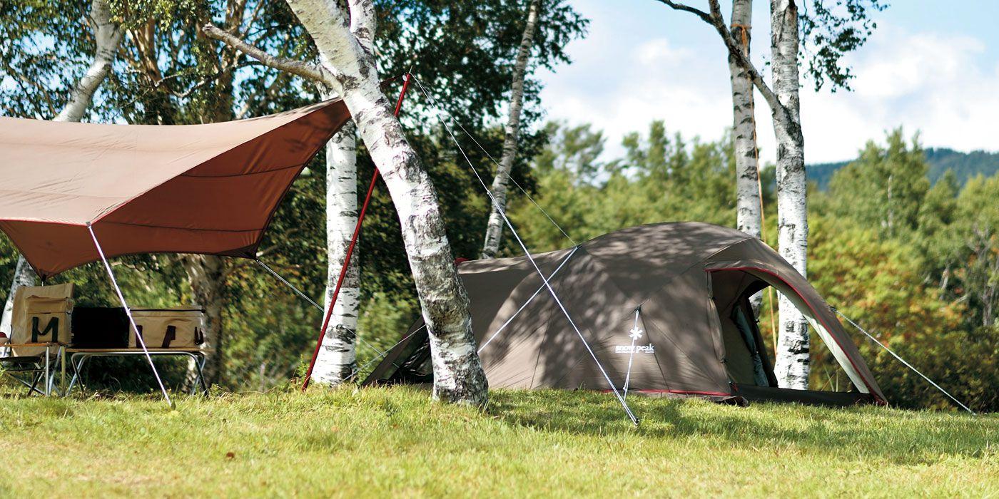 スノーピークのテントの画像