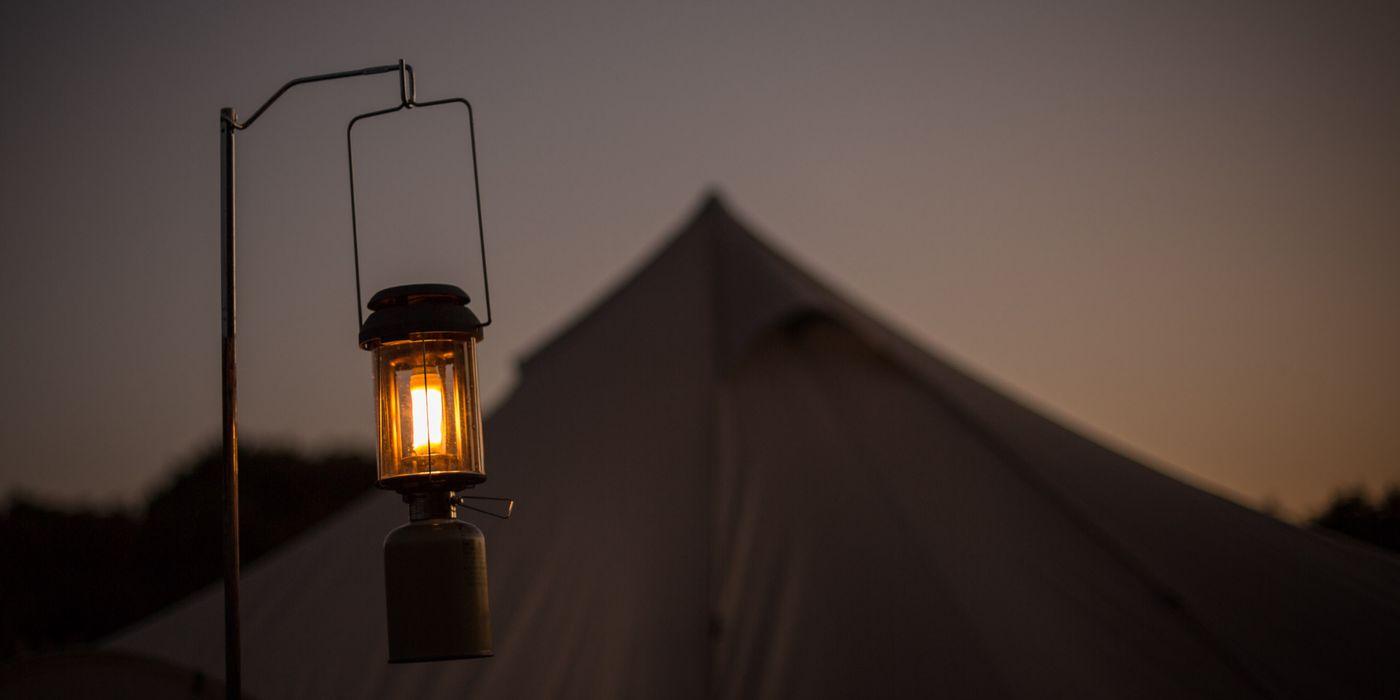スノーピークのランタンの画像