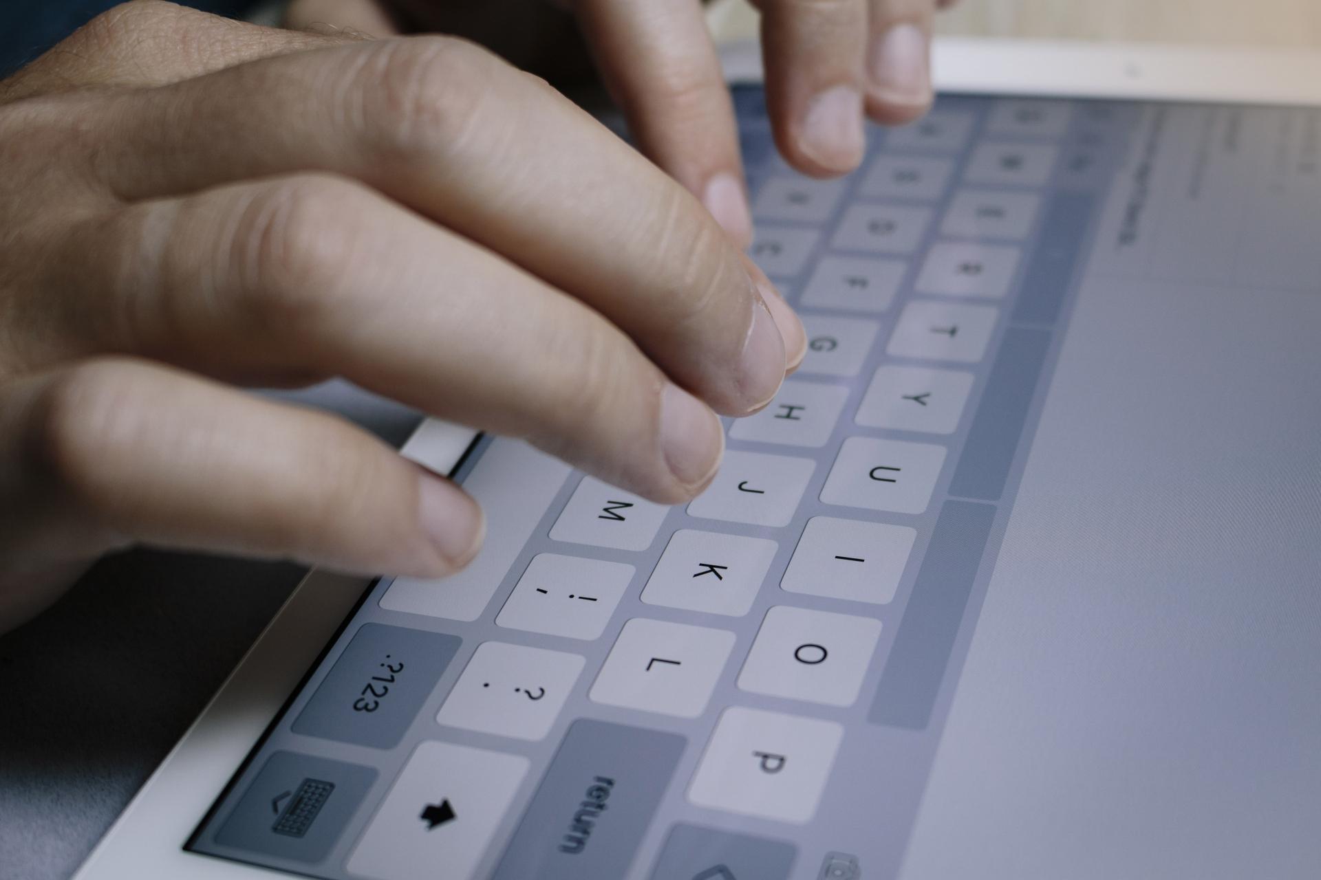 Bluetoothキーボードのイメージ画像
