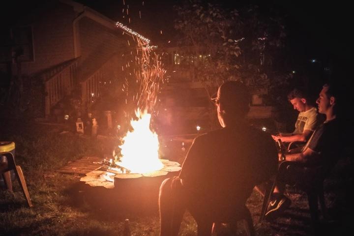 キャン 台 ゆる 焚き火