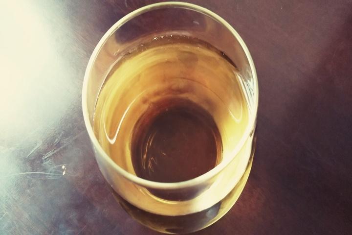 日本酒のジンジャーエール割り