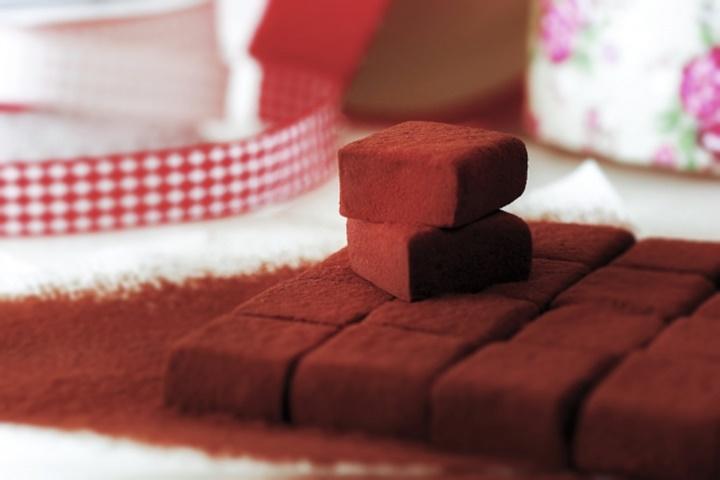 生チョコレートの写真