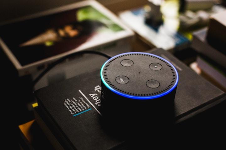 Amazon Echo Dotの写真