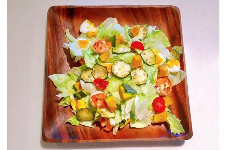 ごちそうサラダの写真