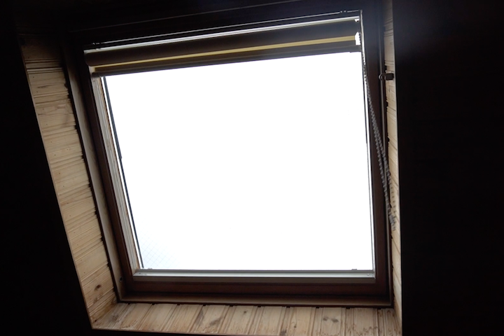 コテージ 天窓