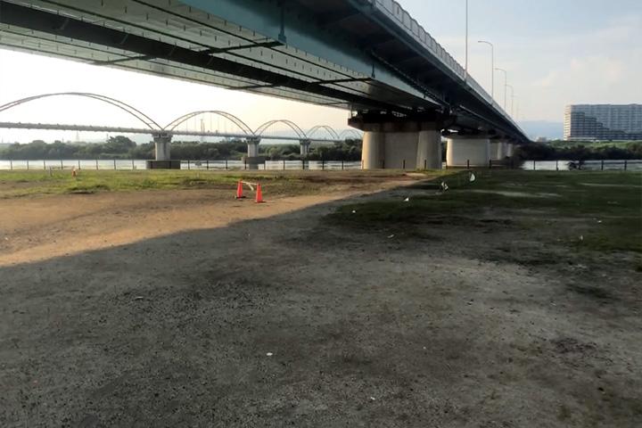 淀川河川公園<枚方地区>のバーベキュー広場