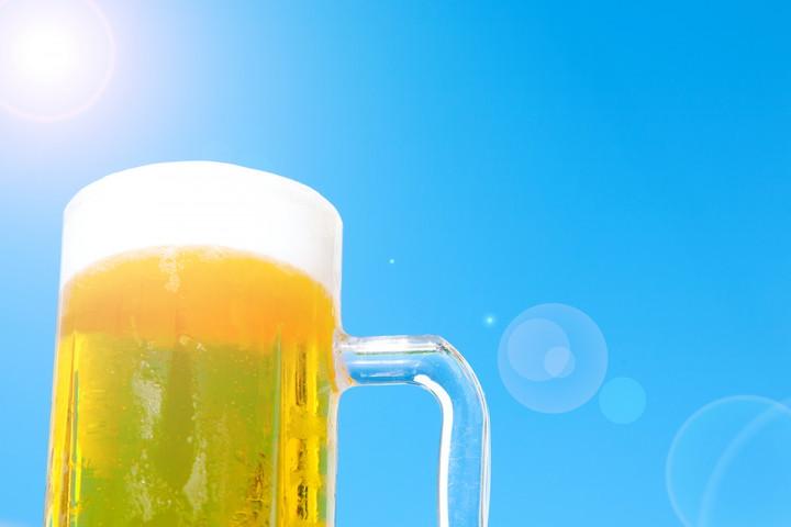 用途のひとつ、ビール