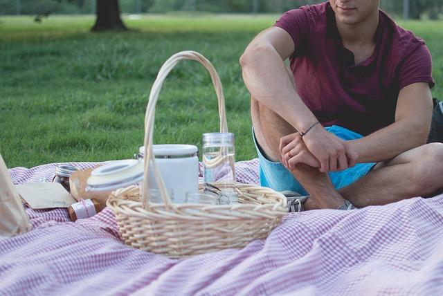 ピクニックのランチ