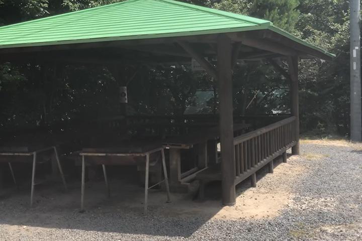 八風キャンプ場バーベキュー場