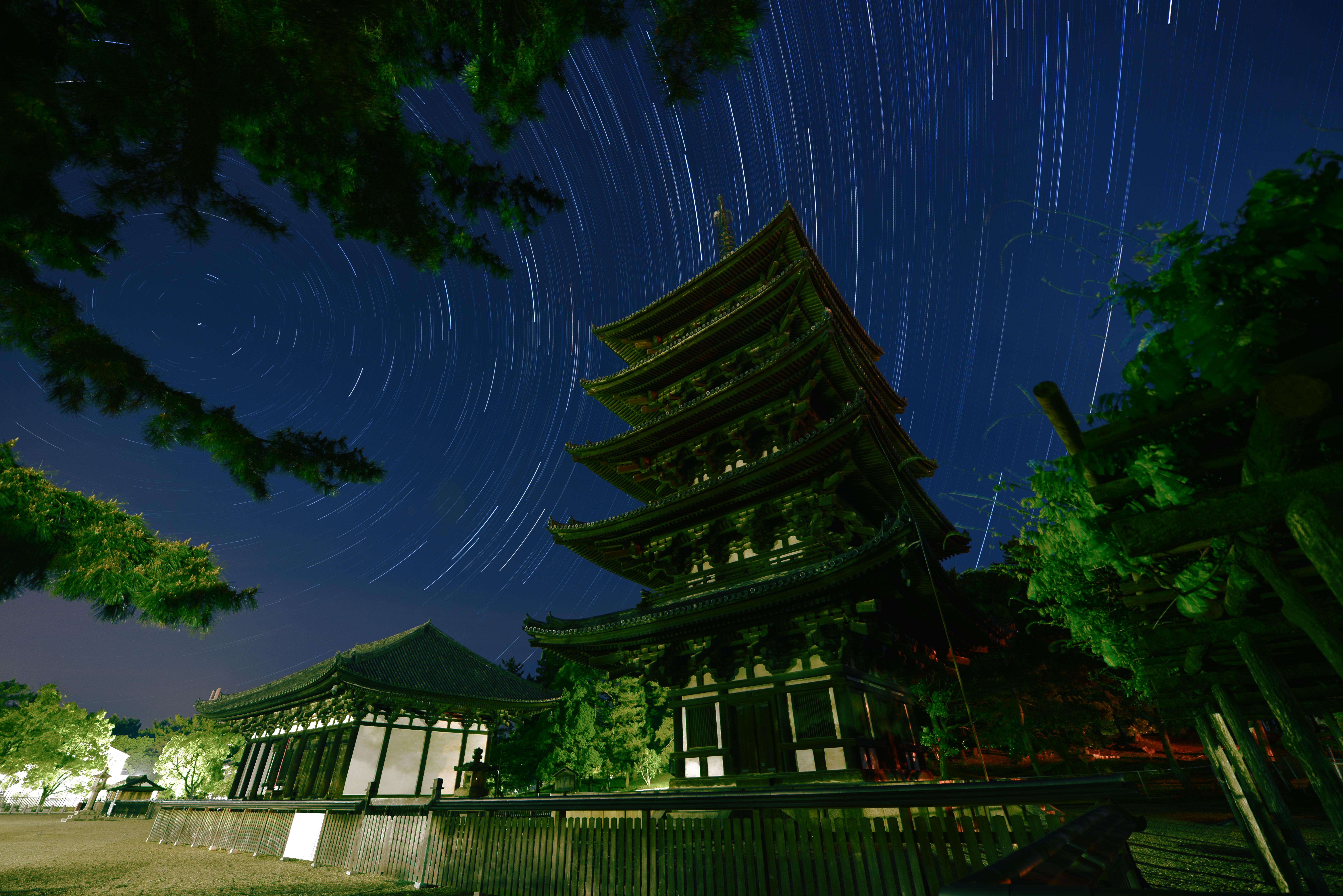 【興福寺・五重塔】撮影地▶︎奈良市