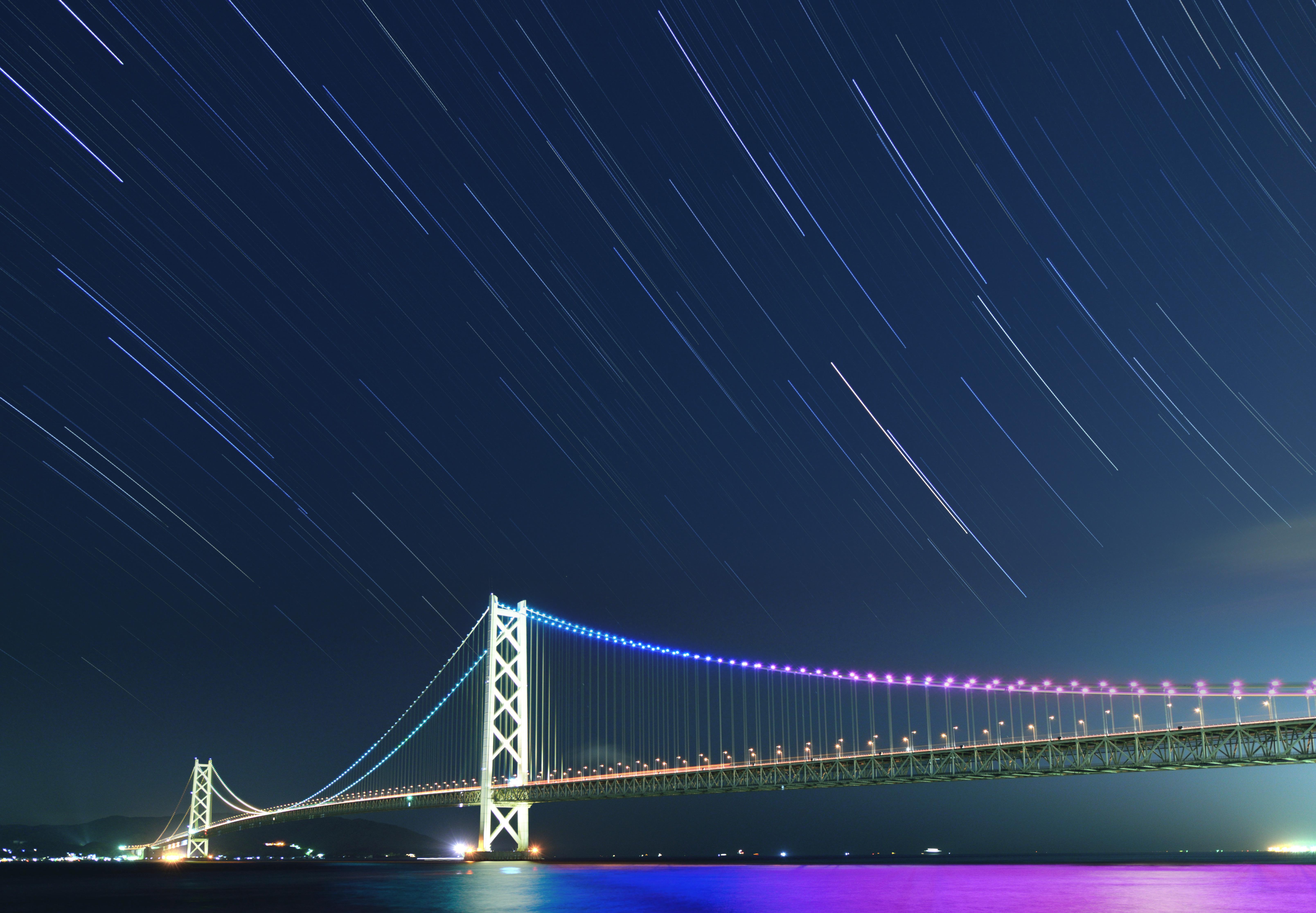 【明石海峡大橋】撮影地▶︎兵庫県明石市