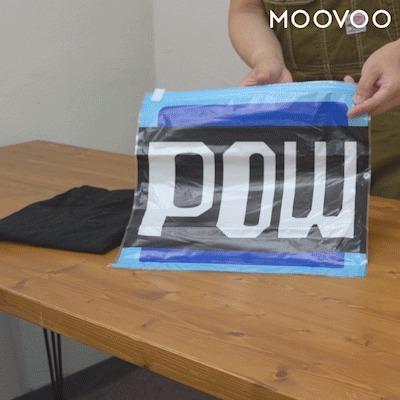 衣類圧縮袋 (ハテナブロック/POWブロック)