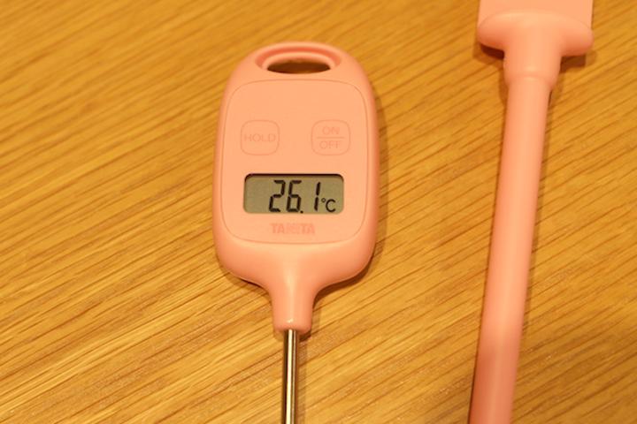 温度計の写真アップ