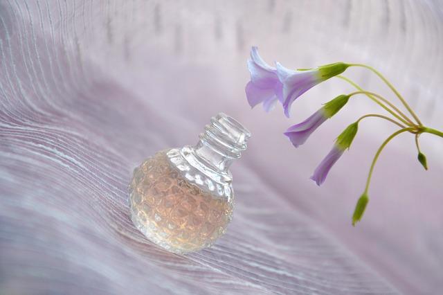 すずらんの香水の写真