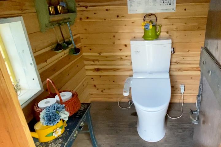 FBI大山のトイレ内観